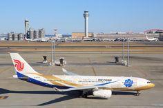 中国国際航空 Airbus A330-200 B-6076 羽田空港 航空フォト | by 安芸あすかさん 撮影2015年01月03日