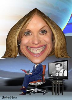 Katie Couric  (By DonkeyHotey)