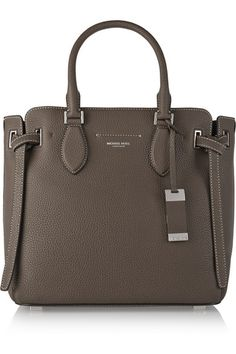 Michael Kors Collection | Rogers medium textured-leather tote | NET-A-PORTER.COM