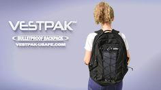 "You   saved to   The VESTPAK™    The VESTPAK™ is a Patented Bulletproof Backpack for EVERYONE. In seconds, you are fully armored against most handgun and shotgun threats with all vital areas are protected. ""We created the VESTPAK™ & USAFE System with one simple yet vital purpose in mind: to protect lives."" Handgun, North Face Backpack, Shotgun, The North Face, Purpose, Backpacks, Simple, Bags, Fashion"