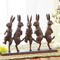 - Dancing Easter Bunnies