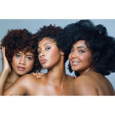 "My Natural Sistas (India Davis, Carmen Graham, and Toni Mitchell) This trio of beauty veterans have been sharing their natural hair journey since 2009. Firm believers in the trial-and-error process, they keep it real on everything from hairstyle solutions to fitness inspo, and even some makeup tricks. Not a part of ""The Sistahood"" yet? You'll want to be—India Davis, Carmen Graham and Toni Mitchell plan on expanding their natural hair content even more this year."