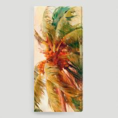 One of my favorite discoveries at WorldMarket.com: 'Beach Palm II' by Allyson Krowitz  sz