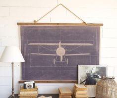 Aviator wall decor