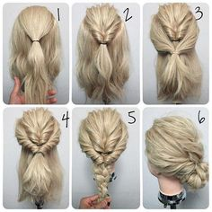 Remarkable Updo Double Braid And Twists On Pinterest Hairstyles For Women Draintrainus