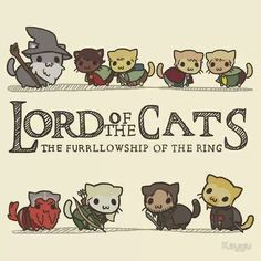 kitty cat funny animals cute adorable lord of the rings movie cats LOTR hobbits kitten animal feline kittens felines gandalf kitties furry Furries elfs thehobbit thecatalogues lordofthepurrs Legolas, Thranduil, Gandalf, Aragorn, Tauriel, Kili, Crazy Cat Lady, Crazy Cats, Film Anime