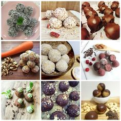 10 bliss ball recipes under 100 calories