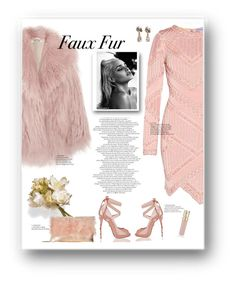"""Faux Fur"" by immyowndoll ❤ liked on Polyvore featuring Hervé Léger, Miu Miu, National Tree Company, Federica Rettore, Loeffler Randall, Smith & Cult and fauxfur"