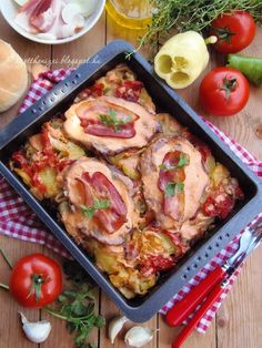 Az otthon ízei: Rácos tarja Croatian Recipes, Hungarian Recipes, Hungarian Food, Meat Recipes, Chicken Recipes, Cooking Recipes, Food 52, Diy Food, Pork Dishes