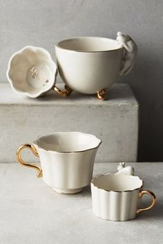 Time for tea measuring cups #anthropologie