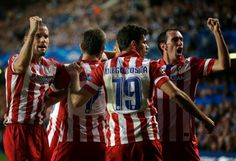 It will be an all-Madrid final in Lisbon, as Atlético tries to win its first-ever European Cup. With a four point lead in La Liga, 2014 could be the best year in Atlético's long history by the end of May. 3-1 winners over Chelsea, WOW! #Fanatic #FanaticMoment #UCL #ChampionsLeague