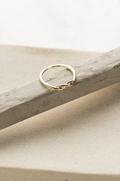 With a Twist Gold Ring | ShopDressUp.com