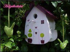 """Nistkasten/Vogelhaus""""My Home"""" von Holzallerliebst auf DaWanda.com"""