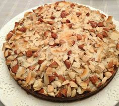 almond&coconut indian pie