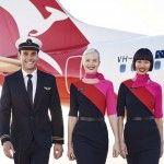 New Qantas pilot uniforms take to the skies