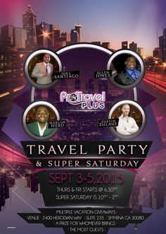 ProTravelPlus : Travel Party  Today , 05.09.2015, Atlanta,  10 AM - 2 PM ,  PRIZE- FREE Vacation , Get your FREE ID : http://TOPteam.365.pm