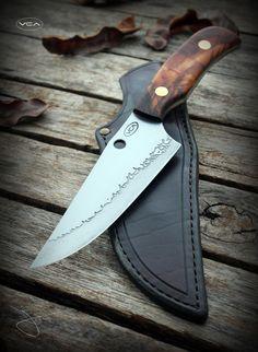 VCA Knives - 100CrV2 skinner knife
