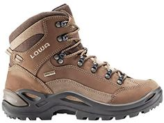 Lowa Women's Renegade GTX Mid Hiking Boots Taupe/Sepia 10.5 Narrow