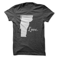 Love Vermont T Shirt, Hoodie, Sweatshirt