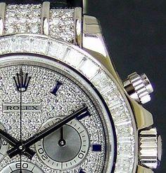 ROLEX - 18kt White Gold Daytona Full Diamond Pave Roman - Model - 116599 - http://menswomenswatches.com/rolex-18kt-white-gold-daytona-full-diamond-pave-roman-model-116599-3/ COMMENT.