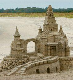 Sand castle...