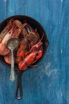 King prawns & Lobster | Au Petit Goût