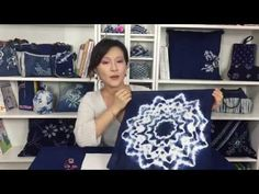 Origami Shibori is one of the Japanese traditional tie dye techniques,which presents stunning flower patterns by using sector folding or screen folding with . Tye And Dye, How To Tie Dye, How To Dye Fabric, Tye Dye, Diy Tie Dye Techniques, Shibori Techniques, Textile Dyeing, Tie Dye Crafts, Shibori Tie Dye