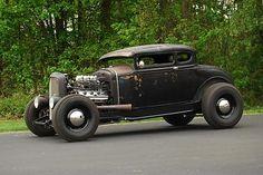 1930 331 hemi model A coupe hotrod