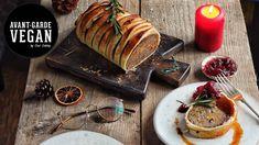 Avant-Garde Vegan By Gaz Oakley, is here to provide fun, imaginative vegan recipes, showing you some of my Vegan food favorites . Vegan Christmas Dinner, Christmas Roast, Xmas Dinner, Christmas Dishes, Vegan Thanksgiving, Vegan Foods, Vegan Dishes, Vegan Roast Dinner, Vegan Wellington