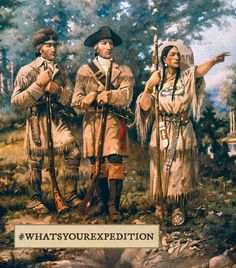 Things like the Lewis and Clark expedition could have been branded. | What U.S. History Would Have Been Like With Hashtags