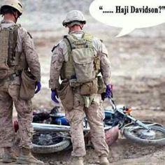 #haji #davidson #military #humor #deployment #combat #sandbox #iraq #Afghanistan #American #troops #warfare