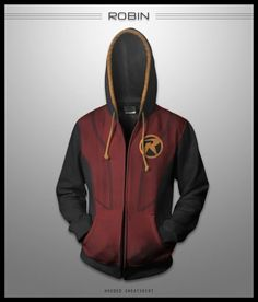 This ROBIN hoodie is dope! More after the jump (via @GeekTyrant News)