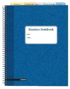Reader's Notebook - Advanced: 5-pack