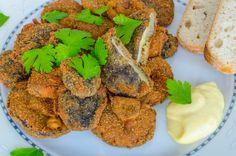Funghi fritti, un piatto semplice e molto appetitoso dalla croccante panatura
