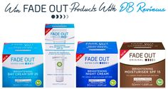 Enter this competition to win Fade Out skincare products