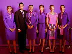 The Airline: Thai Airways ~ World stewardess Crews