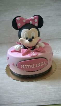 Minnie Mouse - Cake by Novanka