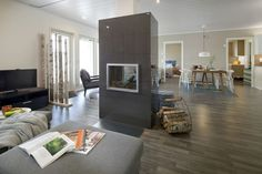 Kodin1, Jyväskylän Asuntomessut 11.7.-10.8.2014, kohde Ainoakoti HauHaus (kohde 36). Sisustussuunnittelu: Riina Toikko ja Anne Saarikoski. Sweet Home, House Beautiful