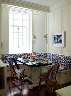 portfolio of designer Ashley Whittaker. Love the ceiling, molding and Windows
