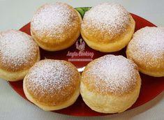 Rețetă Gogoși Pufoase - Anyta Cooking Hamburger, Fondant, Bread, Cooking, Food, Deserts, Recipies, Kitchen, Brot