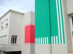 Embrace the stripy world of Daniel Buren.