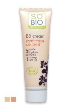 BB Cream Bio 5 en 1 Perfecteur de Teint SO'BiO étic