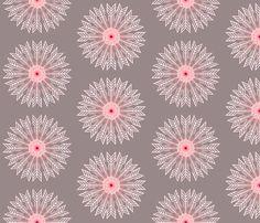 Splitting Arrow (Mauve) fabric by hodgepodgeofstyles on Spoonflower - custom fabric
