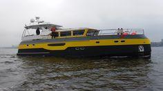 64 футовая алюминиевая моторная яхта проекта Fireball. flagmanyachts.com