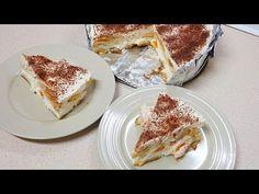 Nepečený dort Malakov - Recepty 2019 - YouTube Tiramisu, French Toast, Breakfast, Ethnic Recipes, Youtube, Food, Morning Coffee, Meal, Essen