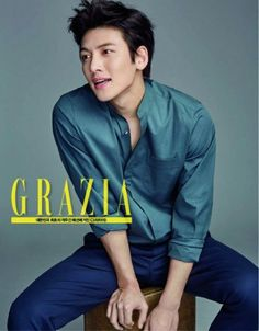 Ji Chang Wook on @dramafever.  I would say Grazia every day for him too....