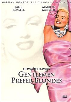 Gentlemen prefer blondes (1953) Marilyn Monroe in pink: (born Norma Jeane Mortenson; June 1, 1926 – August 5, 1962) was an American actress, model, and singer, who became a major sex symbol, starring in a number of commercially successful motion pictures during the 1950s and early 1960s.