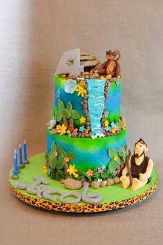 The Croods cake