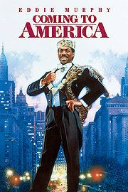 Un prince à New York / Coming to America - 1988 - directed by : John Landis - cast : Eddie Murphy, Arsenio Hall, James Earl Jones Films Cinema, Cinema Tv, Bon Film, Film D'animation, Comedy Film, Eddie Murphy, 90s Movies, Great Movies, Awesome Movies