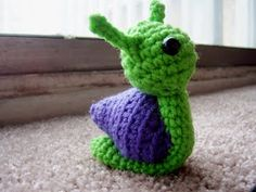 Sally the Snail - free pattern